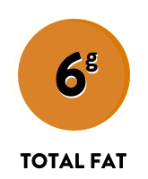 6g total fat